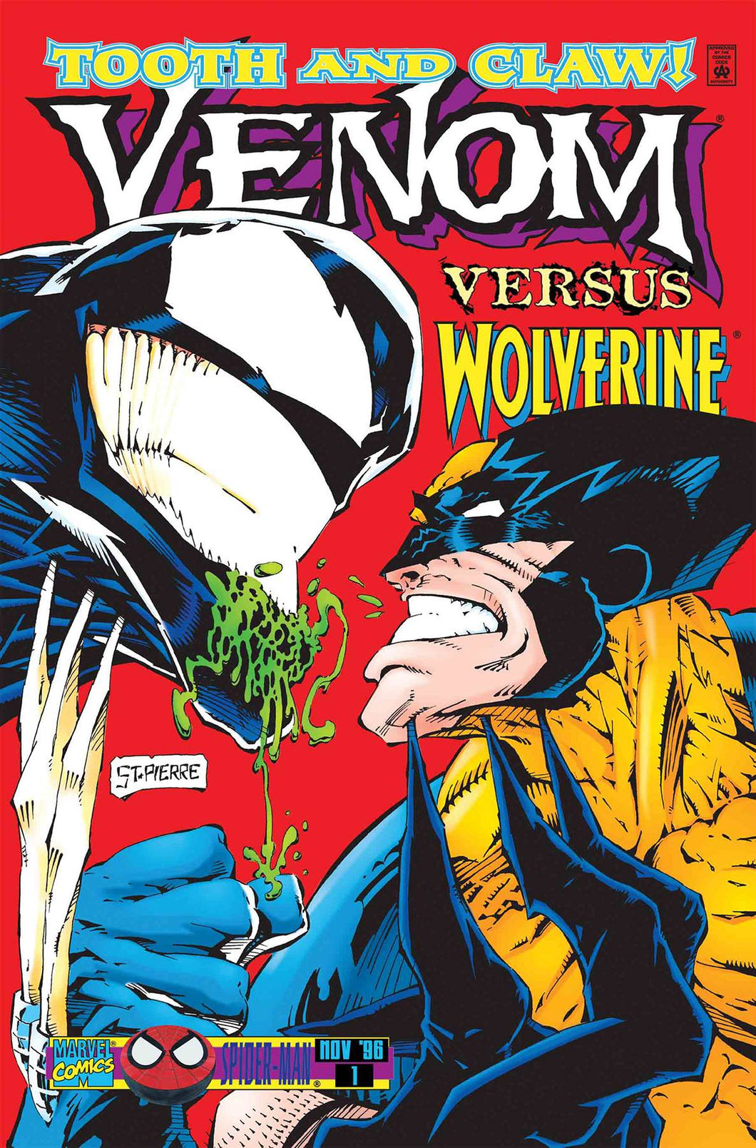 TRUE BELIEVERS WOLVERINE VS VENOM #1 05/23