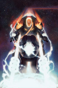 COSMIC GHOST RIDER #1 GERALD PAREL EXCLUSIVE VIRGIN VARIANT COVER B