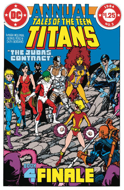 DOLLAR COMICS TALES OF THE TEEN TITANS ANNUAL #3 12/11/19 FOC 11/18/19