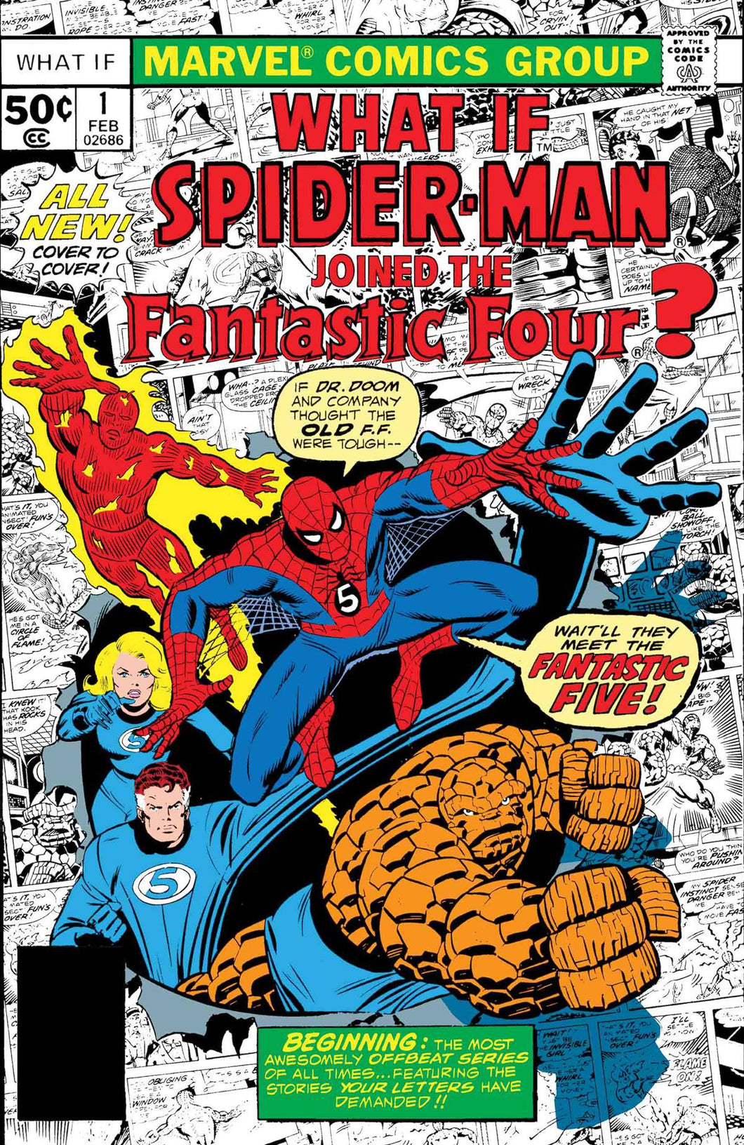 TRUE BELIEVERS FANTASTIC FOUR WHAT IF? #1 FOC 07/02 (ADVANCE ORDER)
