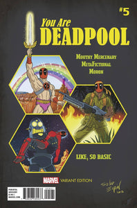 YOU ARE DEADPOOL #5 (OF 5) ESPIN RPG VAR FOC 05/07 (ADVANCE ORDER)