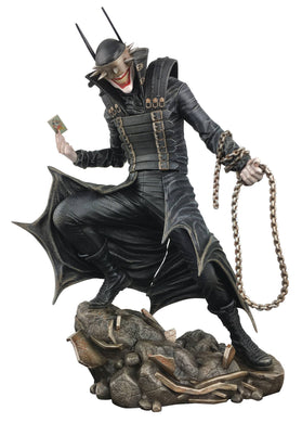 DC GALLERY BATMAN WHO LAUGHS PVC STATUE FOC 06/01 (ADVANCE ORDER)