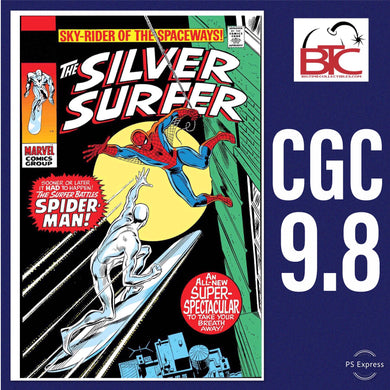SILVER SURFER #14 FACSIMILE EDITION CGC 9.8 BLUE LABEL