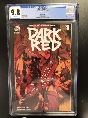 DARK RED #1 STROMAN 1:10 VARIANT CGC 9.8