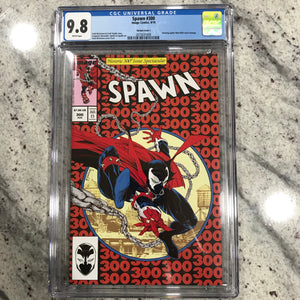 SPAWN #300 ASM300 HOMAGE CGC 9.8