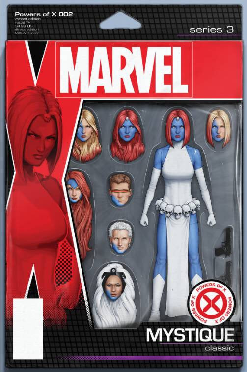 POWERS OF X #2 (OF 6) CHRISTOPHER ACTION FIGURE VARIANT 08/14/19 FOC 07/22/19