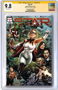 STAR #1 MICO SUAYAN EXCLUSIVE COVER RAW & CGC GRADED OPTIONS