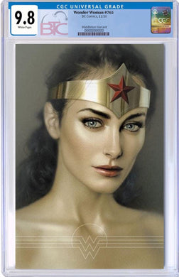 WONDER WOMAN #765 JOSH MIDDLETON VARIANT CGC 9.8 W/FREE NM RAW COPY 12/28/21