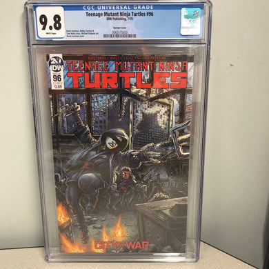 TMNT ONGOING #96 EASTMAN VARIANT CGC 9.8