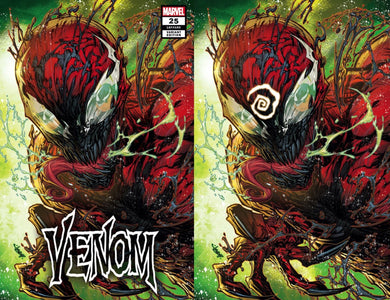 VENOM #25 JONBOY EXCLUSIVE TRADE DRESS & VIRGIN VARIANT OPTIONS