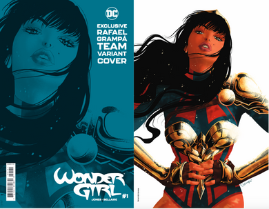 WONDER GIRL #1 EXCLUSIVE TEAM CVR RAFAEL GRAMPA SPOT FOIL CARD STOCK VARIANT 05/19/21
