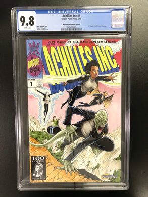 ACHILLES INC #1 X-MEN #1 EXCLUSIVE HOMAGE CGC 9.8
