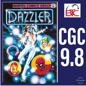 DAZZLER #1 FACSIMILE EDITION CGC 9.8 BLUE LABEL