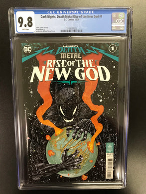 DARK NIGHTS DEATH METAL RISE OF THE NEW GOD #1 CGC 9.8