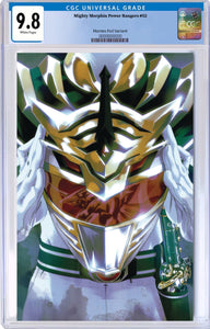 MIGHTY MORPHIN POWER RANGERS #52 FOIL MONTES VARIANT CGC 9.8
