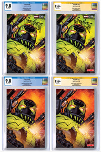 VENOM #28 JONBOY MEYERS EXCLUSIVE VIRUS VARIANT CGC OPTIONS