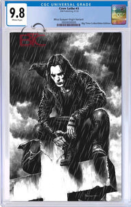 "CROW LETHE #3 MICO SUAYAN ""IT CAN'T RAIN ALL THE TIME"" EXCLUSIVE VIRGIN VARIANT CGC 9.8"