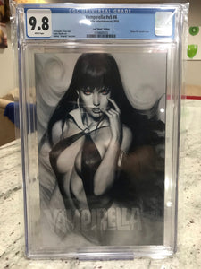 "VAMPIRELLA #6 ARTGERM ""GHOST"" EDITION CGC 9.8 W/FREE COPY OF ACETATE EDITION"