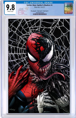 SPIDER-MAN SPIDERS SHADOW #1 MICO SUAYAN EXCLUSIVE VARIANT CGC OPTIONS