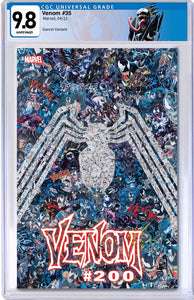 VENOM #35 MR GARCIN VAR 200TH ISSUE CGC 9.8 WITH VENOM CUSTOM LABEL