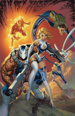 WEAPON H #6 J SCOTT CAMPBELL RETURN OF FANTASTIC FOUR VARIANT FOC 07/23