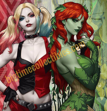 HARLEY QUINN & POISON IVY #1 HARLEY & IVY CONNECTING VARIANTS SET BY ARTGERM 09/04/19 FOC 08/12/19