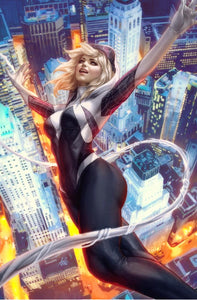 SPIDER-GWEN GHOST SPIDER #1 ARTGERM VARIANT (W/TRADE DRESS)