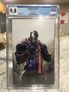 VENOM THE END #1 CLAYTON CRAIN C2E2 EXCLUSIVE CGC 9.8