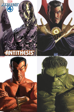 DEFENDERS ALEX ROSS TIMELESS VARIANT COVER SET (4 COMICS) 11/06/20