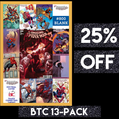 AMAZING SPIDER-MAN #800 BTC 13-PACK 25% OFF