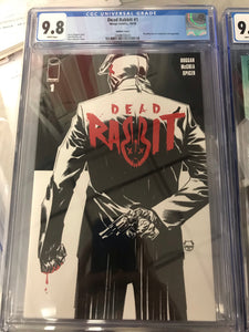 DEAD RABBIT #1 1:10 DAVE JOHNSON VARIANT CGC 9.8
