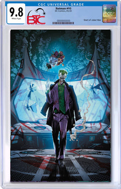 BATMAN #95 JOKER WAR STARTS HERE! CGC 9.8 W/FREE NM RAW COPY 09/21/20