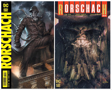 RORSCHACH #1 JOHN GIANG & LUCIO PARILLO EXCLUSIVE COMBO