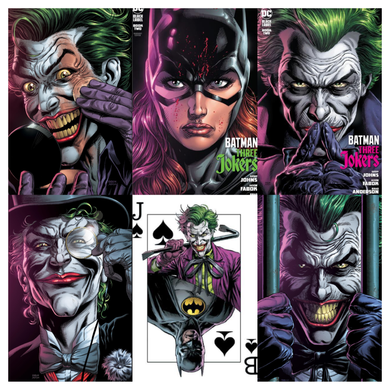 BATMAN THREE JOKERS #2 (OF 3) 5-PACK SET 09/29/20