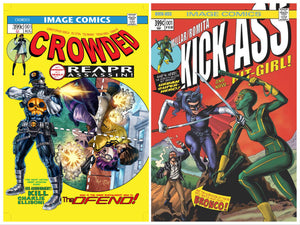 CROWDED #1 & KICKASS #1 BTC EXCLUSIVE COMBO SWIPE