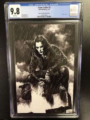 CROW LETHE #3 MICO SUAYAN EXCLUSIVE CGC 9.8