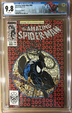 AMAZING SPIDER-MAN #800 SHATTERED COMICS VARIANT CGC 9.8