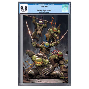 TMNT #99 KAEL NGU EXCLUSIVE VIRGIN VARIANT & CGC OPTIONS