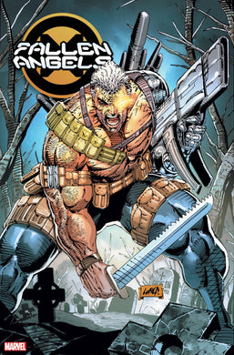 FALLEN ANGELS #1 LIEFELD 1:100 HIDDEN GEM VAR DX 11/13/19 FOC 10/21/19