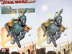 STAR WARS WAR BOUNTY HUNTERS ALPHA #1 CHRIS SPROUSE EXCLUSIVE 05/05/21