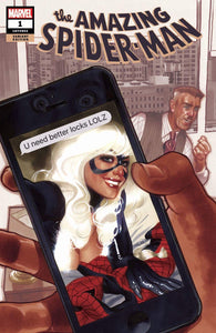 AMAZING SPIDER-MAN #1 (2018) ADAM HUGHES VARIANT COVER A