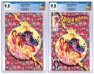 SPIDER-WOMAN #5 RIAN GONZALES EXCLUSIVE VARIANT CGC OPTIONS