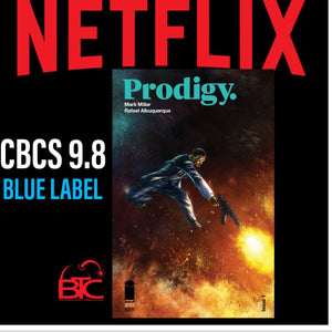 PRODIGY #1 BTC & PCC EXCLUSIVE CBCS 9.8 BLUE LABEL