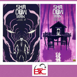 SHADOWMAN (2018) #1 AND #2 CVR F SCARCE VARIANTS BUNDLE  04/25/18 RELEASE DATE