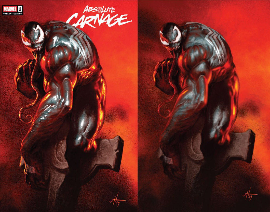 ABSOLUTE CARNAGE #1 GABRIELLE DELLOTTO EXCLUSIVE VARIANT COVER OPTION FOC 07/15/19