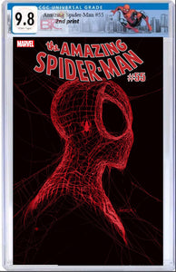 AMAZING SPIDER-MAN #55 SECOND PRINT CGC 9.8 W/SPIDER-MAN CUSTOM LABEL