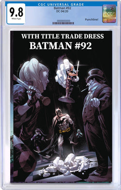 BATMAN #92 CGC 9.8 + FREE RAW COPY (1ST OF THE UNDERBROKER & PUNCHLINE FULL APPEARANCE)