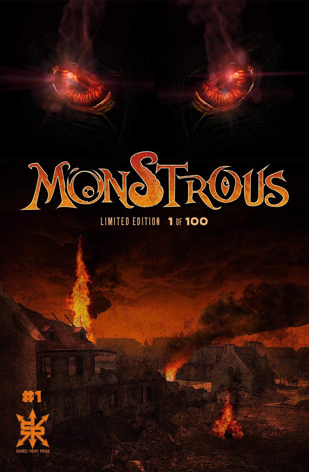 MONSTROUS #1 BTC EXCLUSIVE LIMITED TO 100 COPIES (11 Copies Left)