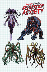 ABSOLUTE CARNAGE SEPARATION ANXIETY #1 LEVEL DESIGN 1:10 VAR IANT  08/14/19 FOC 07/22/19