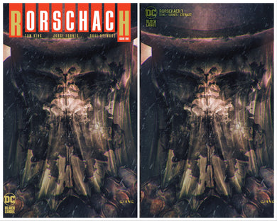 RORSCHACH #1 JOHN GIANG EXCLUSIVE VARIANT RAW OPTIONS